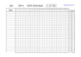 Nursing Schedule Template Mctoom Com
