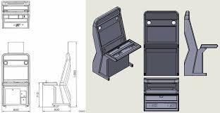 and homemade vewlix like the top ans the fixation of the panel so i have made my own blueprints to the left the original to the right my conception