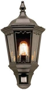 wall lantern indoor. Lantern Wall Lights Black Exterior Half Light With Indoor Uk . R