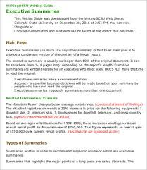 Writing Executive Summary Template 9 Best Executive Summary Templates Samples Pdf Free Premium