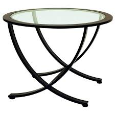 round glass top end table wellington metal end table oil rubbed bronze round glass top s