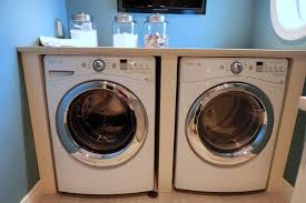 organizing the laundry room day 22 front load washer and dryer with countertop for
