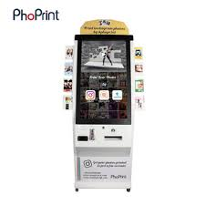 Code For Vending Machine System Mesmerizing Coin Acceptor Selfservice Photo Vending Machine Qr Code Vending