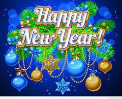 Happy New Year Decor Balls Christmas 3d ...