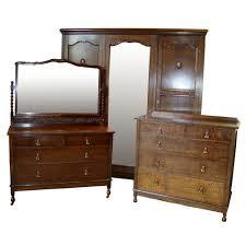 Oak Bedroom Suite Jacobean Style Oak Bedroom Suite C1930s Antiques Atlas