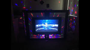 diy tv facade dj booth