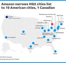 Amazon Second Headquarters Finalists Their Pros And Cons