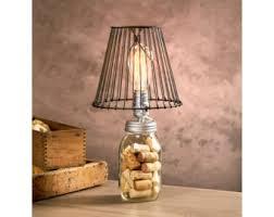 diy mason jar lighting. Mason Jar Lamp Kit / Light DIY Lighting For Regular Diy