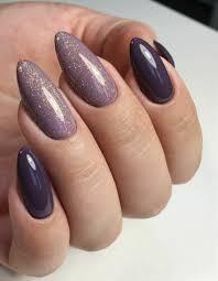 35 elegant mauve color nail designs