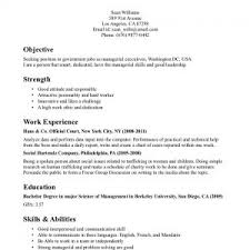 Example Of Work Resume Awesome Cover Letter Example Resume For Job Resume Example For First Job