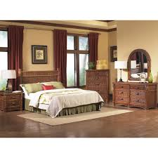 Mirror Style Bedroom Furniture Traditional 4pc Brown Bedroom Set Modern Sleigh Bed 2 Drawer