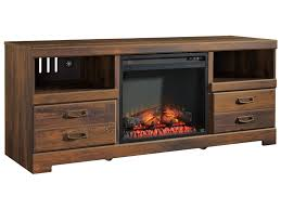 Signature Design by Ashley Quinden Rustic Casual TV Stand