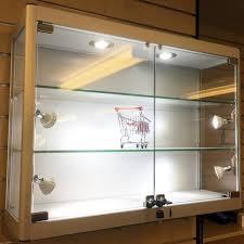 aluminium glass wall mounted