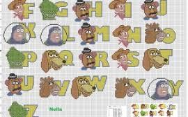 Alphabet Cross Stitch Patterns Free Cross Stitch Patterns