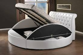 Stunning Round Bed Frames 75 With Additional Simple Design Decor with Round  Bed Frames