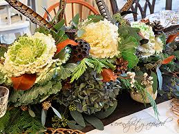 ... Gorgeous Accessories For Table Decoration Using Various Thanksgiving  Floral Table Centerpiece Ideas : Extraordinary Image Of ...