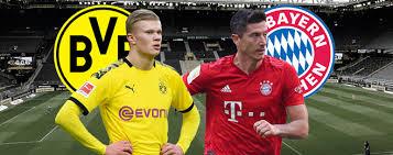 Die vorberichterstattung mit allen interviews und informationen zu den aufstellungen von dortmund und bayern startet am dienstag um 20 uhr. Borussia Dortmund Vs Bayern Munich Sancho Starts On The Bench