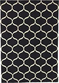 ikea stockholm rug white net pattern black