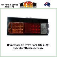 Led Tray Lights Universal Led Tail Light Tray Back Ute R L Indicator