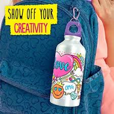 Creative diy personalized water bottle ideas Wedding Water Bottle Crate Creativity Unique Custom Hydrate Markers Amazoncom Amazoncom Your Décor By Horizon Group Usa Color Your Own Water