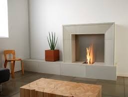 image of gas fireplace contemporary design