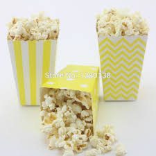 Decorative Popcorn Boxes 60pcs Party Favor Popcorn Boxes Baby Shower Wedding Birthday 12