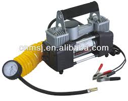 portable air compressor for car tires. air compressor 2 cylinder portable tire inflator pump for car tires