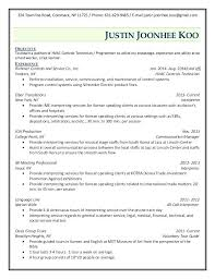 Medical Lab Technician Resume Enchanting Technician Resume Format Technician Resume Sample Medical Lab