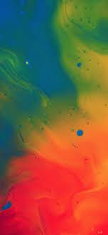 Blend color rainbow paint ink pattern ...