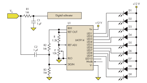 bargraph voltmeter circuit diagram tradeoficcom wiring diagram use an led dot graph display to complement your dvm readout bargraph voltmeter circuit diagram tradeoficcom