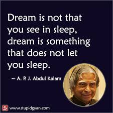 Apj Abdul Kalam Quotes Dream