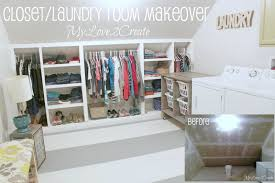 mylove2create closet laundry room makeover