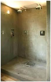concrete shower floor sealer concrete shower floor by ad s one day my shower concrete shower