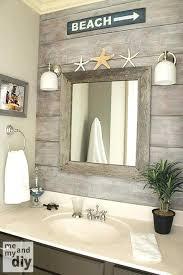 beach theme lighting. Beach Theme Bathroom Love The Drift Wood Behind Mirror Themed Lighting .  Decor Modern H
