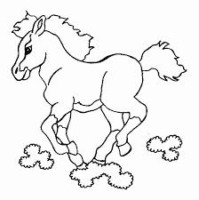Kleurplaat Paard Met Veulen Geïnspireerd Air Jordan 18 Jaar