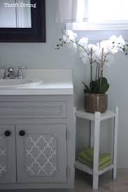 BEFORE  AFTER My Pretty Painted Bathroom Vanity - Bathroom diy