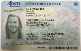 ab Operator's Idviking Best Id Licence Alberta Scannable Ids - Fake