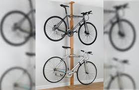 Pro Bike Display Stand Review Review GearUp OakRak FloortoCeiling 100 to 100bike rack roadcc 81