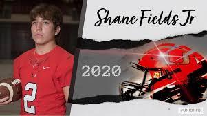Senior – Shane Fields, Jr – Union Football