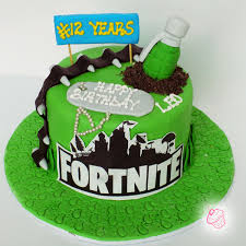 Fortnite Theme Cakescoke