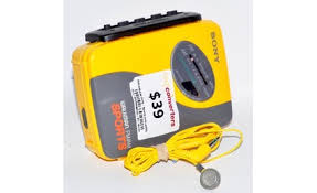 sony yellow walkman. sony walkman sports waterproof portable cassette player sony yellow walkman