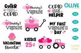 See more ideas about valentine svg files, valentines svg, svg. Valentine S Day Kids Svg Bundle 418883 Cut Files Design Bundles