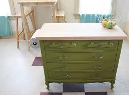 diy kitchen island from dresser. Kitchen Island DIY Diy From Dresser
