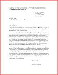 Cover Letter For Internship Memo Example