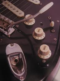 the black strat build 6 a flick of a switch custom spdt did you notice that too whew i thought i was seeing things for a minute but i guess that s a switch throw arm hiding in between the knobs and selector