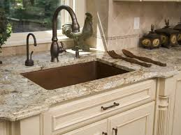 Granite Colors For Kitchen Granite Counters With Cream Colored Cabinets Arctic Cream