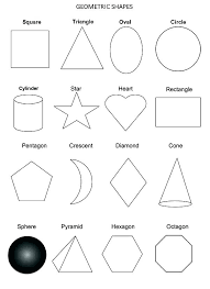 Shapes For Coloring Shape Color Pages Shapes Coloring Pages ...