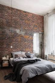 brick wall bedroom. Urban Decayed Red Wallpaper Wall Mural | MuralsWallpaper.co.uk. Brick BedroomBrick Bedroom A