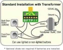 wiring a battery doorbell wiring diagram for you • installation ichime rh ichime com doorbell kits wire two doorbells to one transformer