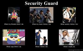 security guard   What People Think I Do / What I Really Do   Know ... via Relatably.com